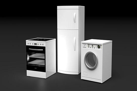 install the kitchen appliances