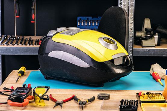 our expert repairing vacuum cleaner